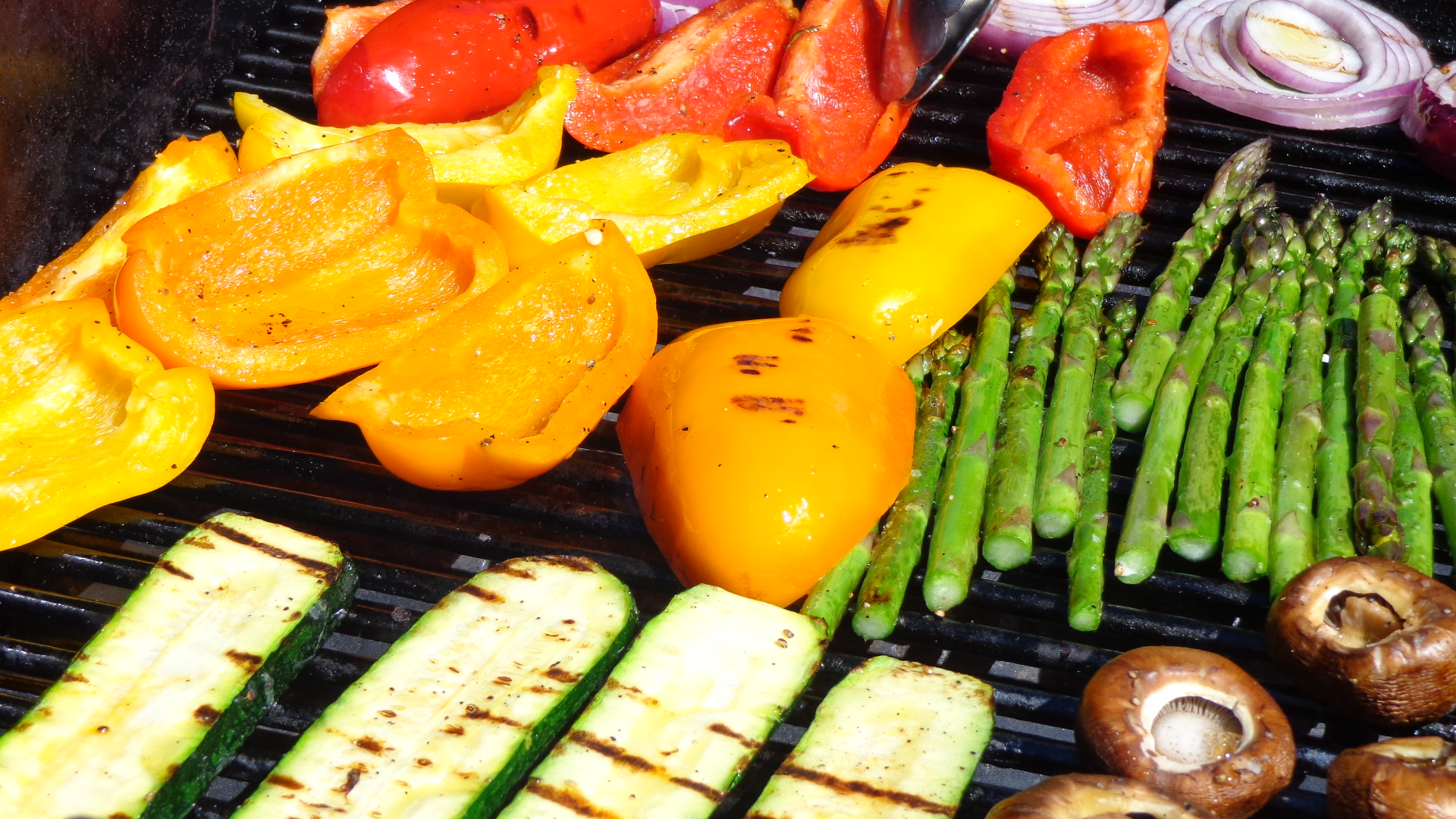 how to cook vegetables on the bbq