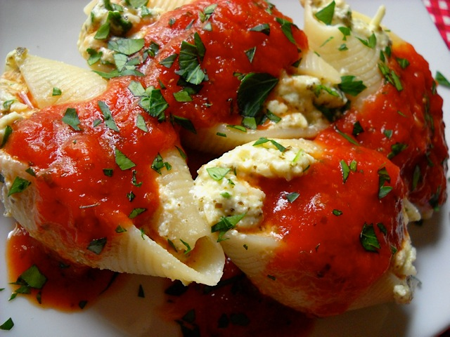 stuffed shells 29 99 59 99 per tray classic stuffed shells stuffed ...