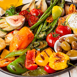 Tremendous Grilled Vegetable Tray Beutiful Home Inspiration Aditmahrainfo