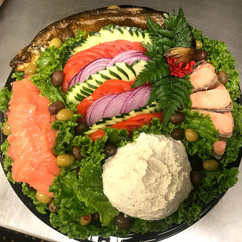 Kosher Fish Tray